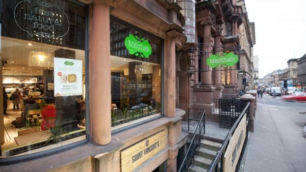 Martha's | | 142A St Vincent Street | |  | Glasgow | | G2 5LQ