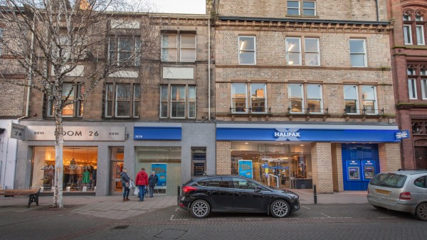 Bank of Scotland plc | | 16/26 (even) Bank Street | |  | Carlisle | | CA3 8HE