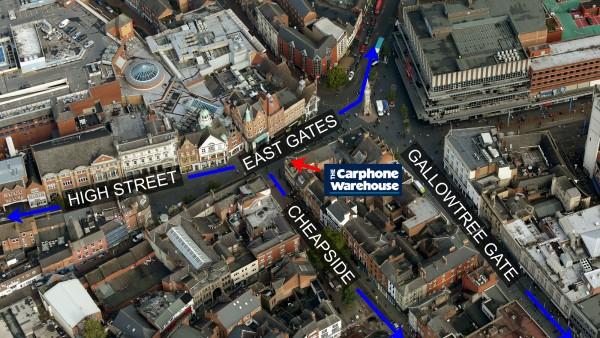 11 East Gates | |  |  | Leicester  | | LE1 5YA