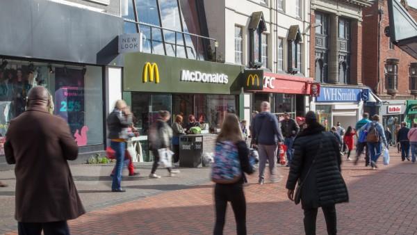 McDonald's 54 Park Street | |  |  | Walsall  | | WS1 1NG