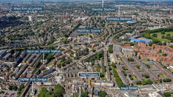 London Hackney property retail investment E8 1HR